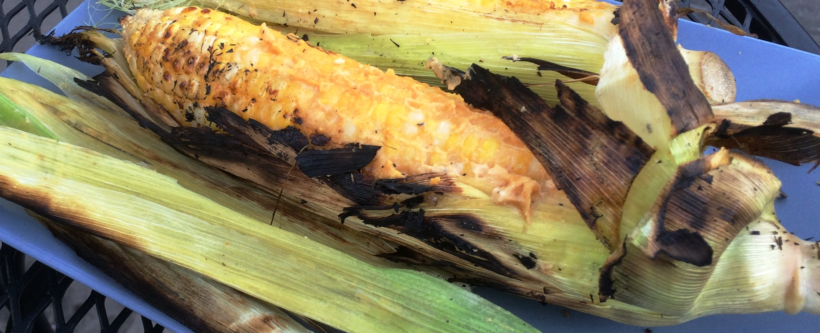 Dairy-Free Cheezy Grilled Corn – Yum!