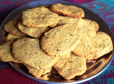 Quick Cheddar Style Crackers